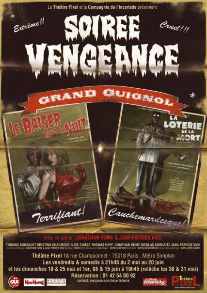 « Soirée Vengeance ! » au théâtre Pixel