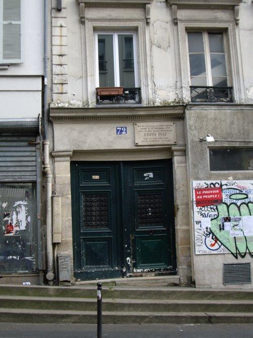 72 rue de Belleville