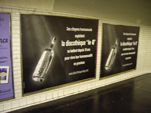 Discothèque Le Q à Bourges - métro parisien