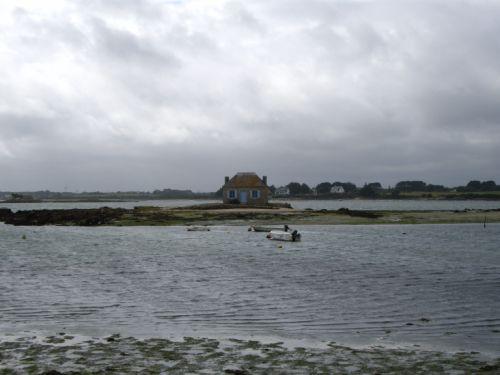 Une maison isolée au large de Saint Cado