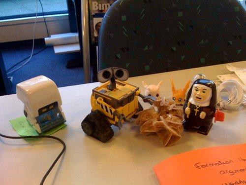 Zoom sur mon WALL-E de bureau !