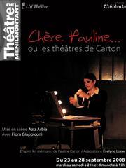 « Chère Pauline... ou les théâtres de Carton » au théâtre de Ménilmontant