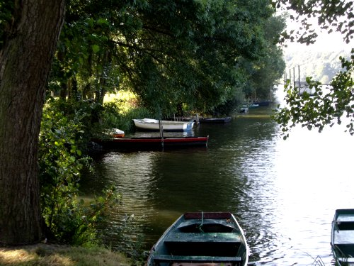 Barques sur la Mayenne