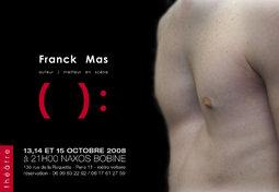 () : Tragédie pour deux espaces, théâtre Naxos-Bobine