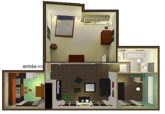 L'appartement magique