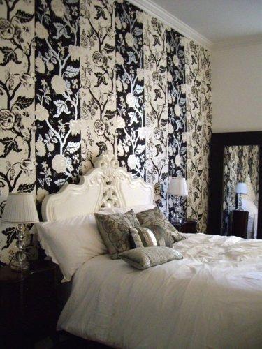 le lit de la chambre à New York