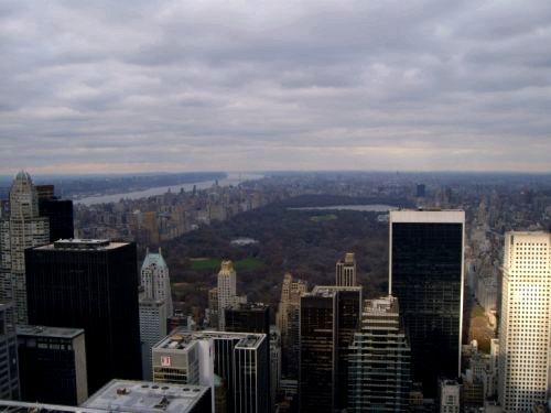 Central Park vu du Top of the Rocks