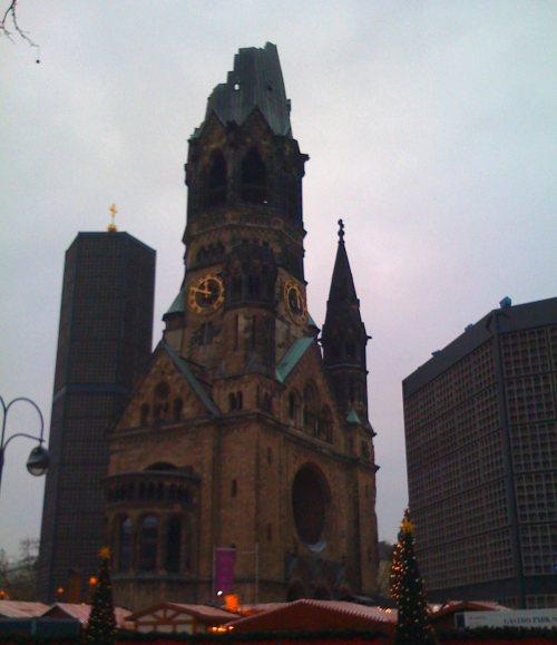 Eglise du souvenir de Berlin