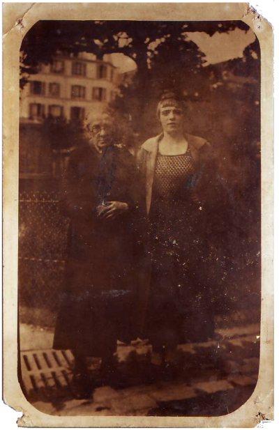 Ma grand-mère et mon arrière-arrière-grand-mère paternelles