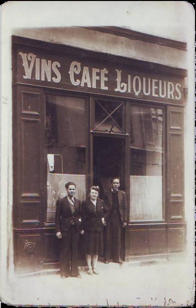 Mes grands-parents paternels impasse Gaudelet