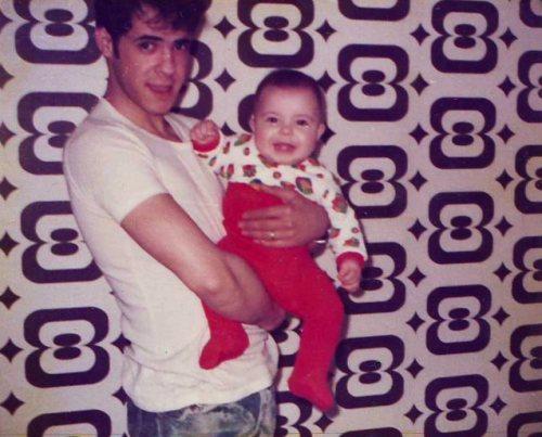 Papa et Jérôme en 1975