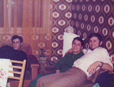 Papa, Pierrot et Denise en 1975