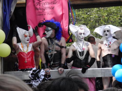 Les soeurs de la perpétuelle indulgence - Gay Pride 2009
