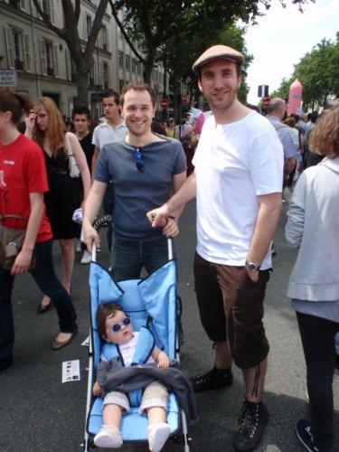 Ricroël et sa progéniture - Gay Pride 2009