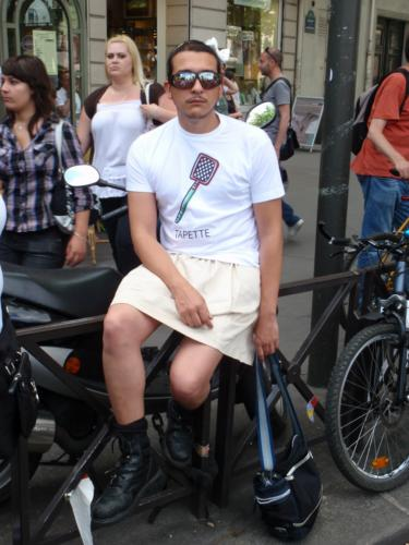 J'ai épousé une tapette. - Gay Pride 2009