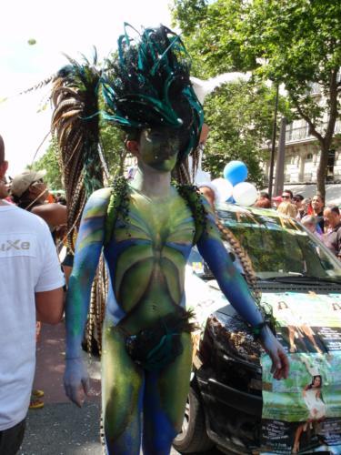 Le joli paon - Gay Pride 2009
