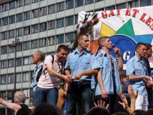 FLAG l'assoce des flics - Gay Pride 2009
