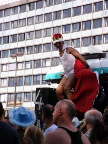 Le roi de la RATP - Gay Pride 2009