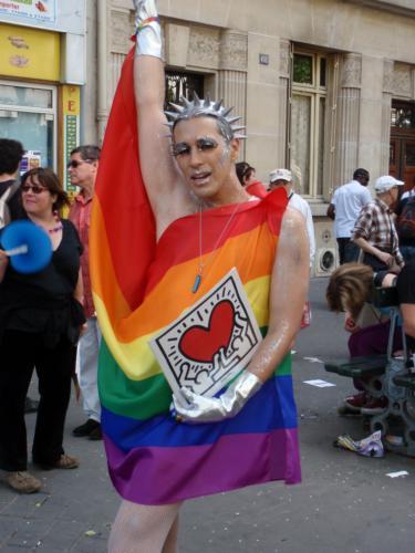 Keith Haring - Gay Pride 2009