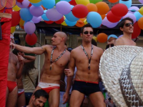 Le char des sportifs - Gay Pride 2009