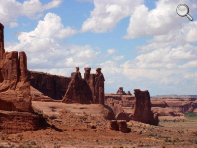 Arches National Park - The Three Gossips