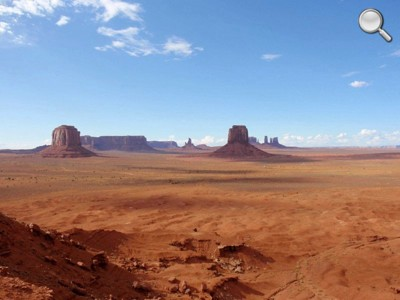 Monument Valley - vue globale