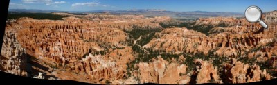 Panorama global de Bryce Canyon