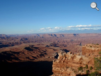 Canyonlands National Park - Vue sur le Colorado (le soir)