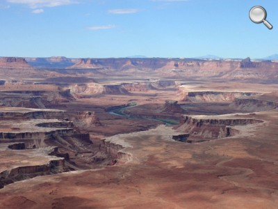 Canyonlands National Park - Vue sur la Green River (le matin)