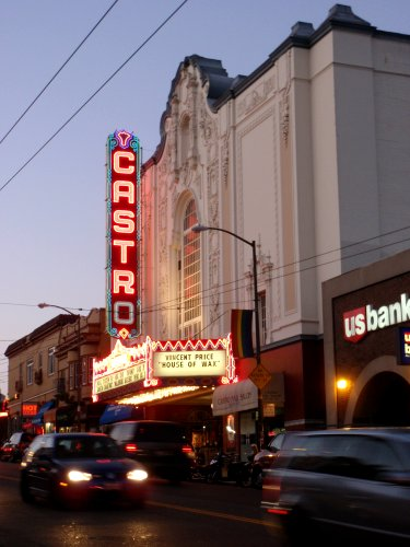 Vue de Castro Street