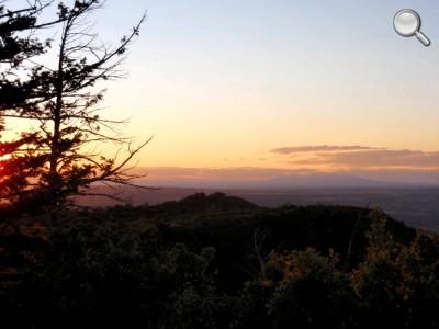 Mesa Verde National Park - Coucher de soleil