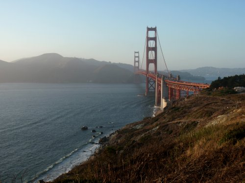 Vue du Golden Gate