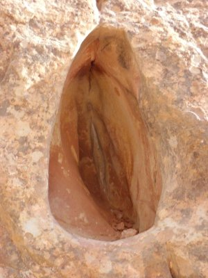 Rocher en forme de sexe féminin ? - Capitol Reef National Park