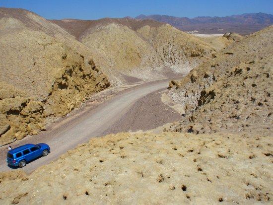Mustard Canyon ou Canyon de la Moutarde - Vallée de la Mort