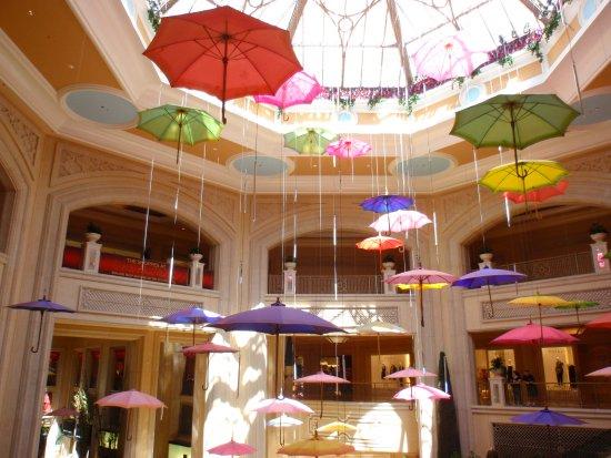 Vue de la galerie marchande du Venetian - Las Vegas