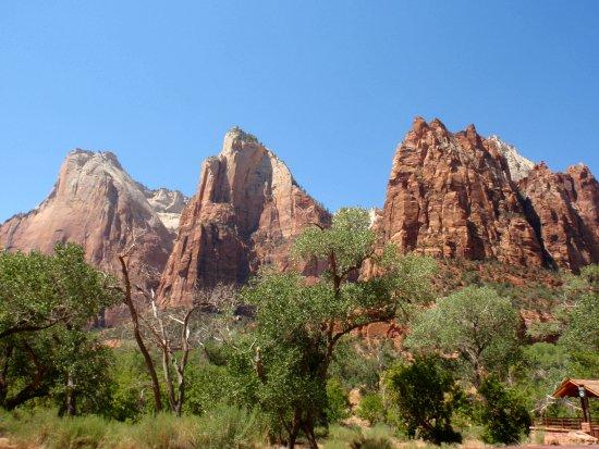 Les trois patriarches - Zion National Park