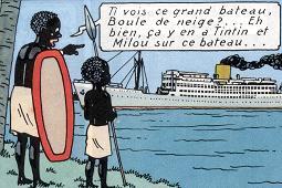 Boule de Neige dans Tintin