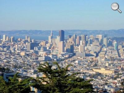 Panorama de San Francisco (Twin Peaks) - détail
