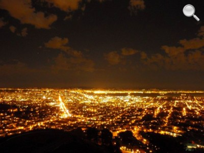 Panorama de San Francisco - Nuit de Twin Peaks
