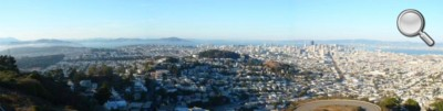 Panorama de San Francisco de Twin Peaks