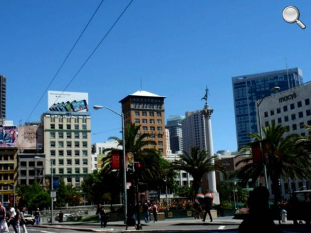Vue de Union Square - San Francisco