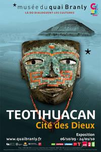 « Teotihuacan - Cité des Dieux » au musée du quai Branly