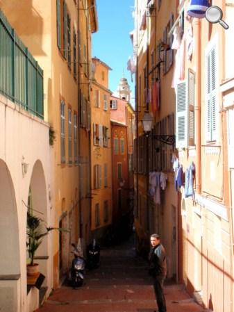 Une rue du vieux Nice
