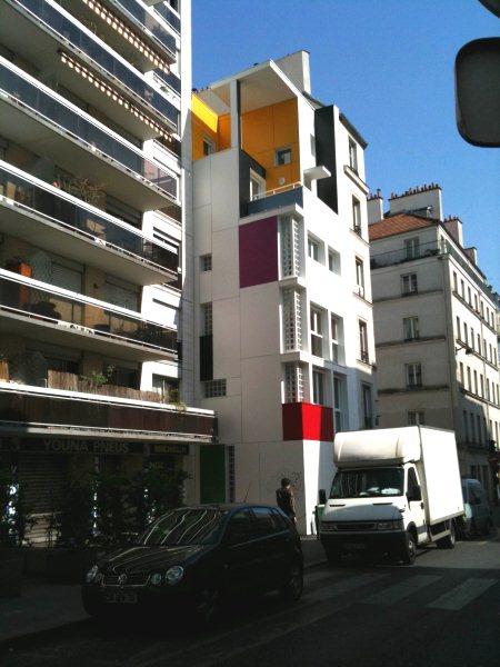 La maison Mondrian de la rue St Maur