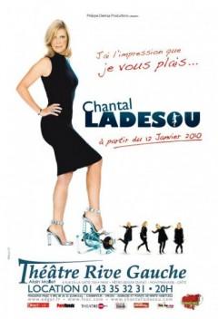 Chantal Ladesou au Théâtre Rive-Gauche