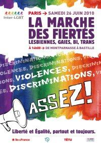 La marche des Fiertés LGBT 2010