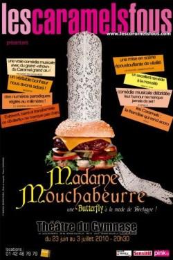 """""""Madame Mouchabeurre"""" au Théâtre du Gymnase par les Caramels Fous"""