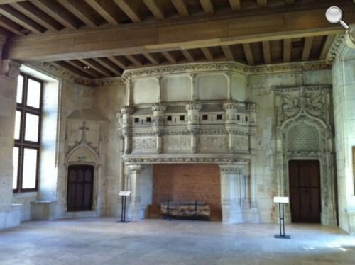 Cheminée Palais Jacques Coeur - Bourges