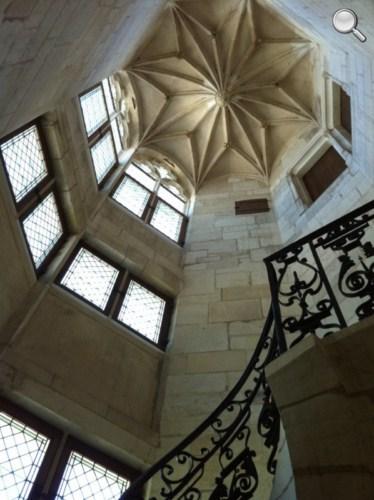 Escalier Palais Jacques Coeur - Bourges