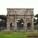 Arc de Constantin dans le forum romain